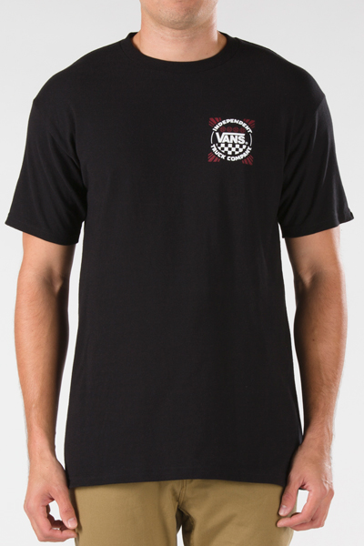 VANS APPAREL INDY TOOLS OF THE TRADE T-Shirt BLACK