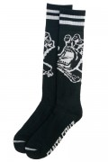 SANTA CRUZ Hand Socks Black