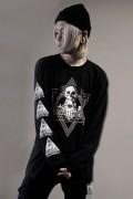 【予約商品】DEADHEARTZ born L/S TEES BLACK