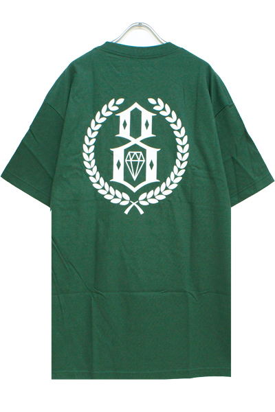 REBEL8 LAURELS TEE DARK GREEN