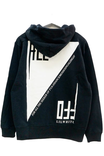 ALL OFF×LILWHITE(dot) SEEKER ZIP HOODIE