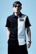 【予約商品】Zephyren(ゼファレン)EMBLEM SHIRT S/S BLACK / WHITE / Cut the wor...