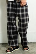 VIRGO VG-PT-229A NOSTALGIC CHECK PANTS BLACK