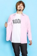 RUDIE'S PHAT CHAMBRAY SHIRTS PINK