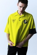 PARADOX PX15-PL01 OPEN COLLAR POLO SHIRTS (NEON YLW)