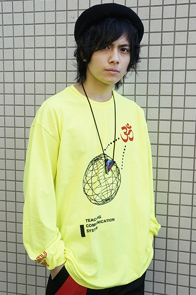 PARADOX ORACLE L/S TEE (YELLOW)