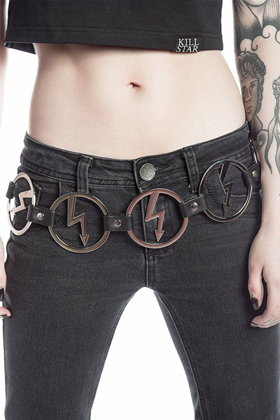 MARILYN MANSON×KILL STAR CLOTHING Deformography Belt [S]