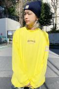 WASTED PARIS T-shirt Longsleeve Columbia Bridge Yellow