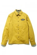 Subciety(サブサエティ) WORK SHIRT  L/S-DUST BIN GARAGE- GOLD