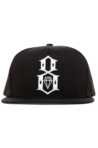 REBEL8 STANDARD ISSUE LOGO SNAPBACK