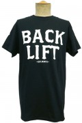 BACK LIFT Clear T-SHIRT BLACKxWHITE