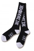 ANIMALIA(アニマリア) AN19S-AC04 KNEE-HIGHS : LOGO BLACK