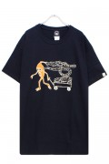 TOY MACHINE TMS19ST3 DUMPSTER PRINT SS TEE BLACK