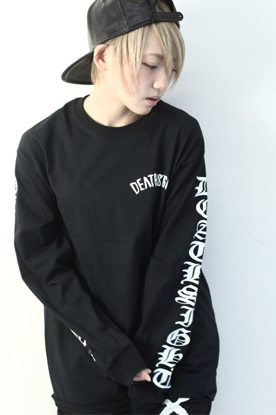 deathsight 17S L/S TEES BLACK