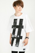 HEDWiNG Big Hashtag〝#〟 T-shirt White