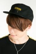 HEDWiNG Dripping Logo Cap Black/Yellow
