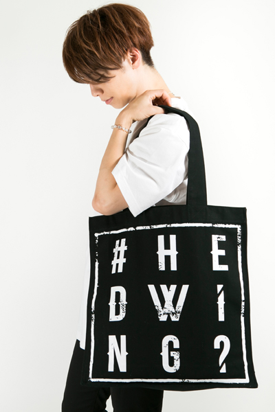 HEDWiNG Hashtag〝#〟 Totebag Black
