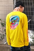 SANTA CRUZ WAVE SLASHER LS TEE YELLOW