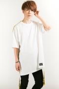 HEDWiNG Warning Tape T-shirt White