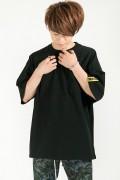 HEDWiNG Drawstring T-shirt Black