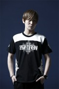 Zephyren FOOTBALL S/S TEE -TRAIL- BLACKxWHITE
