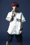 Zephyren BIG BASEBALL SHIRT S/S -SEAMLESS- WHITE