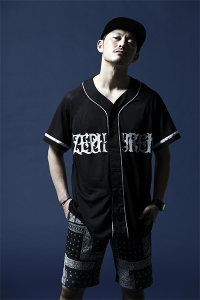 Zephyren BIG BASEBALL SHIRT S/S -SEAMLESS- BLACK