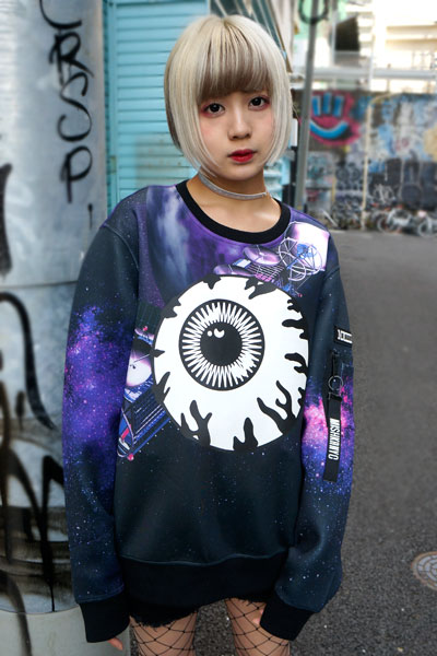 MISHKA (ミシカ) MAW170402 SPACE SWEAT