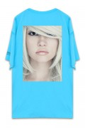 UNUSUAL BEING PROFOUNDLY THE SHADE BEAUTY T-SHIRT RAGOON BLUE