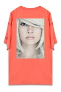 UNUSUAL BEING PROFOUNDLY THE SHADE BEAUTY T-SHIRT NEON RED ORANGE
