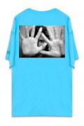UNUSUAL ASSAULT RIOT T-SHIRT RAGOON BLUE