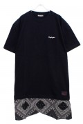 Zephyren SWITCHING S/S TEE BLACK