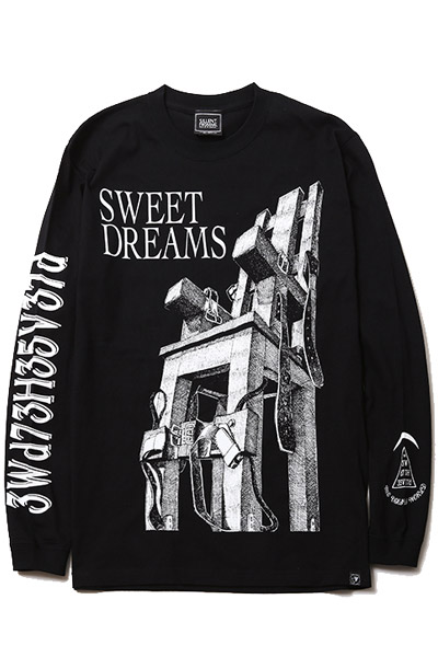 SILLENT FROM ME DREAMS -Long Sleeve- BLACK