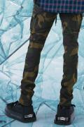 LILWHITE(dot) LW-20SS-B01 WARFARE STRETCH CARGO PANTS CAMO