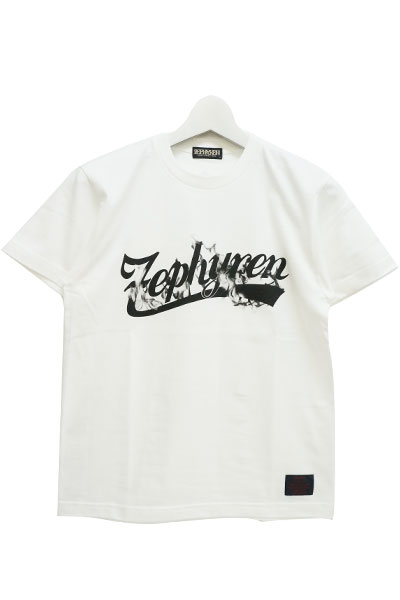 Zephyren(ゼファレン) S/S TEE -BEYOND FLAME- WHITE