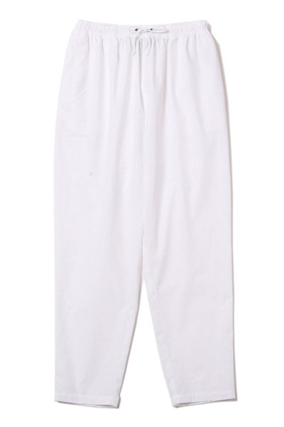 SILLENT FROM ME RUEFUL -Easy Sarouel Pants- WHITE