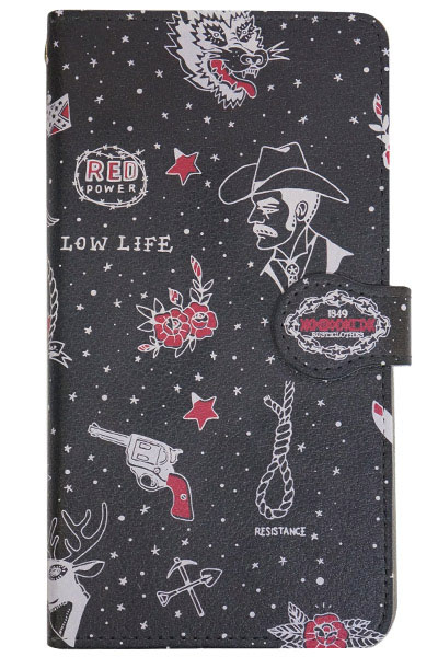 ANIMALIA ANIMALIA PHONE CASE LIBERTINE BLACK