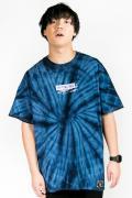 """HEDWiNG HD1-018 """"Pierre"""" Tie-dye T-shirt Navy"""