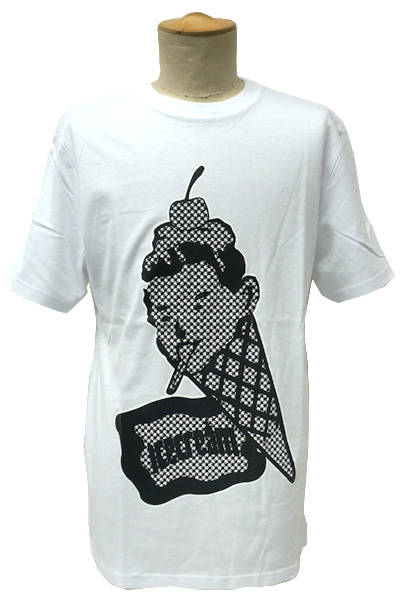 ICECREAM ICED OUT CONE MAN T-SHIRT WHITE