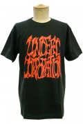 UNDEAD CORPORATION LOGO Tshirt BLK×RED