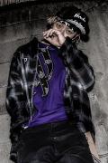 【予約商品】RIP DESIGN WORXX クロスドルーズシャツ CHICANO BLACK