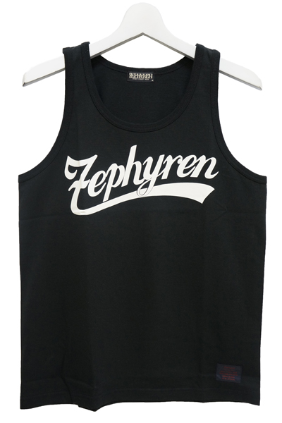 ZEPHYREN (ゼファレン) TANK TOP -BEYOND- BLK