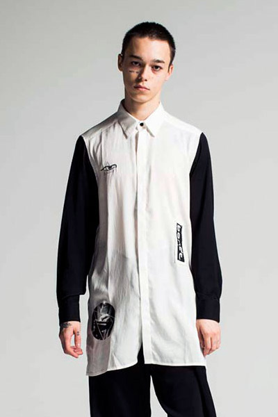 PARADOX LONG SHIRTS WHITE