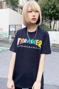 THRASHER TH91292 T-Shirt BLACK