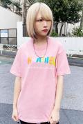 THRASHER TH91292 T-Shirt PINK