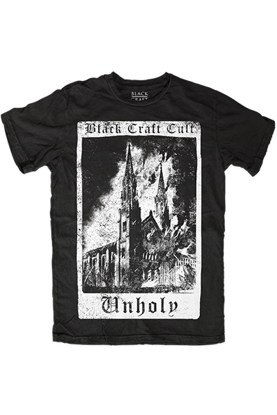 BLACK CRAFT Unholy Tarot Card T-Shirt