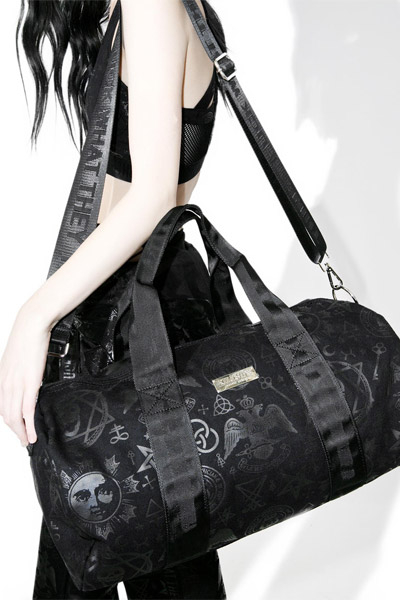KILL STAR CLOTHING (キルスター・クロージング) Resurrection Duffle Bag [B]