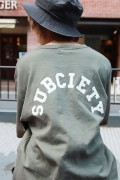 Subciety 【WOMENS】BIG TEE-Junior- GREEN