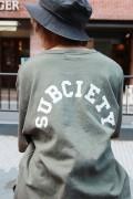 Subciety 【WOMENS】BIG TEE-Junior- GREEN