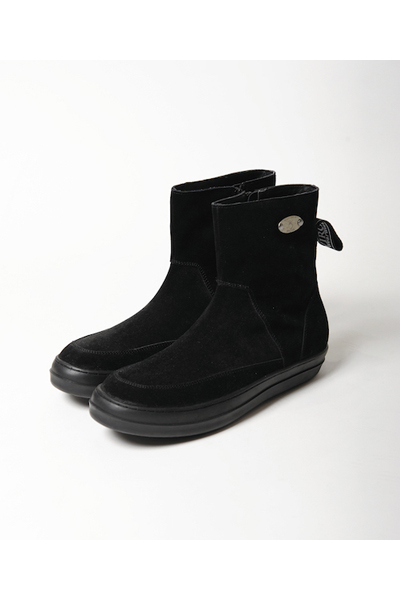 VIRGO SNEAKERS SOLE MIDDLE BOOTS ミドルブーツ BLACK